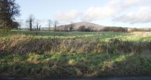 The 0.6 acre site near Kiltegan in Co Wicklow