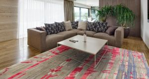 Add a touch of luxury to your livingroom floor with a Vartian 100 knot, wool-silk mix rug, a textile that feels so good underfoot that you will want to climb down from the sofa and lie on it. Buy the design, 1.7m by 2.4m, for a special introductory price of €3,776 (normal price €4,720), on presentation of today's column at Rugart (01-2690505, rugart.ie), Terminus Mills, Clonskeagh Road, Dublin. Offer ends February 28th.