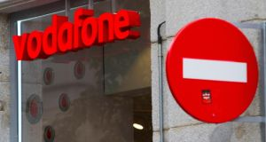 Vodafone has said shareholders will receive 0.026 shares in Verizon Communications plus 36.5 cent for each Vodafone share they own. Photo: Angel Navarrete/Bloomberg