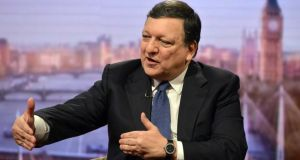 European Commission president José Manuel Barroso infuriated Scottish nationalists when he told the BBC's Andrew Marr that Scotland would have to renegotiate EU membership in the event of a vote for independence. Photograph: PA