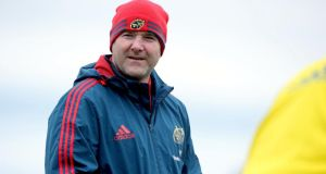 "Munster forwards coach Anthony Foley: ""I always feel that your unconscious mind should be your guide out on the pitch."" Photograph: Ryan Byrne/Inpho"
