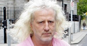 Mick Wallace: he introduced an amendment to put more emphasis on community service rather than recovery orders  Photograph: Niall Carson/PA Wire