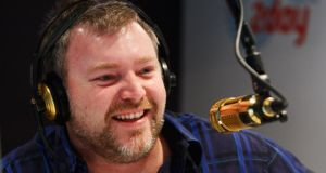 Australian shock jock Kyle Sandilands: part of Denis O'Brien's wealth now indirectly rests on the quality of his banter