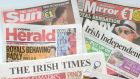 Newspapers sales in Ireland fell in the second half of 2013, with the market for both daily and Sunday titles shrinking by more than 6 per cent