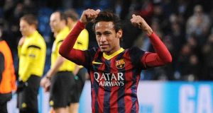 Tax charges relate to the transfer for   Neymar from Santos to Barcelona. Photograph: Peter Powall/EPA