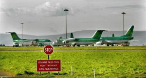 Aer Lingus: Closed the day down 0.68 per cent at just under €1.61. Photograph: Matt Kavanagh
