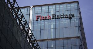 Fitch Ratings has affirmed Ireland's credit rating with a stable outllok. Photo: Bloomberg