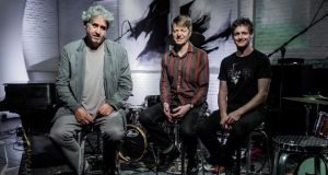 BB&C: Nels Cline (centre) with saxophonist Tim Berne and drummer Jim Black