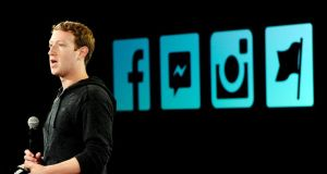 Mark Zuckerberg, chief executive officer of Facebook
