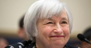 Federal Reserve chairwoman Janet Yellen has pledged to maintain her predecessor's stimulus policy. Photograph: Drew Angerer/Bloomberg