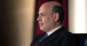 "Ben Bernanke: described European response as ""striking"". Photograph: Gary Cameron/Reuters"