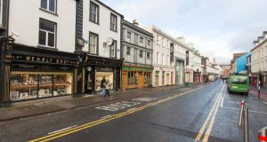 O'Connell Street in Sligo is set to be reordered in an attempt to afford more space to pedestrians. Photograph: James Connolly