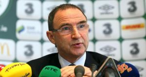 Republic of Ireland  manager Martin O'Neill Photograph: Lorraine O'Sullivan/Inpho