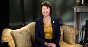 "Rep Cathy McMorris Rodgers, in the official GOP response to the State of the Union address, alluded to the case of ""Bette in Spokane"", who supposedly lost her good health insurance coverage. Photograph: Doug Mills/The New York Times"
