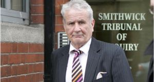 Owen Corrigan: wants orders quashing and removing certain findings relating to him in the report of the Smithwick Tribunal.    Photograph: Dara Mac Dónaill/The Irish Times
