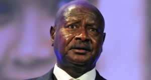 Ugandan president Yoweri Museveni signed the anti-gay bill into law on Monday. Photograph: Getty Images