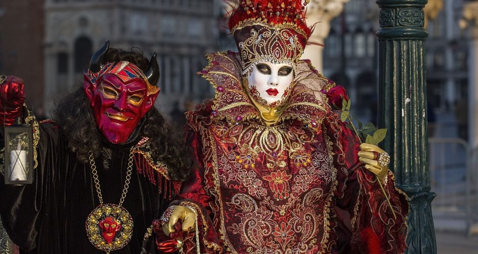 A masque... in Venice