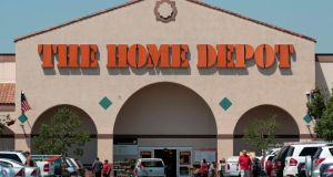 Home Depot Inc reported a higher-than-expected quarterly profit today as it kept a tight lid on costs to offset weak sales, sending shares in the world's largest home improvement chain up 3 per cent. Photograph: Mario Anzuoni/Reuters