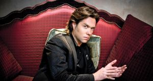 Always destined for stardom: Rufus Wainwright. Photograph:  Barry J Holmes