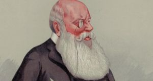 "'Parnell had immediately denounced the letters  as ""bare-faced forgery"". But it was Pat  Egan who identified the ""hesitency"" as typical of Richard Pigott (above), a former ally in the Irish nationalist cause and now its bitter enemy. Thus, a courtroom trap was set, and the witness stumbled into it.' Image:  Detail from a cartoon by ""Spy"" (Lesley Ward), Vanity Fair (photograph: Edward Gooch/Getty Images)"
