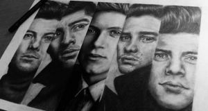 Sarah Ryan's drawing of One Direction