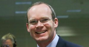 Minister for Agriculture Simon Coveney. Photograph: Julien Warnand/EPA