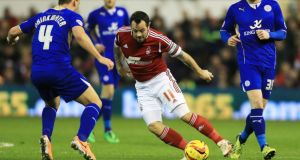 Nottingham Forest's Andy Reid will miss the friendly against Serbia.