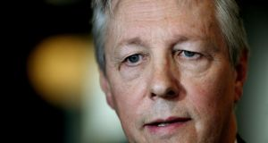 First Minister Peter Robinson who  indicated he was prepared to resign unless there was a judicial review  into the  John Downey case. Photograph: Brian Lawless/PA Wire