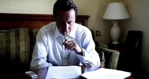 David Cameron: he says he understands 'depth of anger and concern' over court's decision. Photograph: Andrew Parsons/PA.
