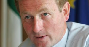 Enda Kenny: said Sean Guerin would be asked to report back to him before the Easter recess