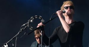 Kodaline at the Electric Picnic Festival last year.  Photograph: Brenda Fitzsimons/The Irish Times