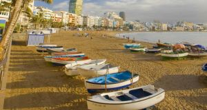 Canteras Beach in Gran Canaria. Photography: Getty Images