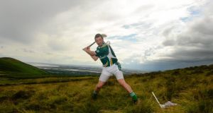 Over the Rainbow: Tipperary's Brendan Cummins during the All-Ireland Poc Fada finals 2013. Photograph: Paul Mohan/Sportsfile