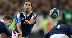 Morgan Parra in action for France. Photograph: Billy Stickland/Inpho
