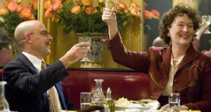 Stanley Tucci and Meryl Streep in  Julie & Julia, the first screening for new Foodie Movie Club