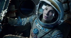 Nominated: Gravity, with Sandra Bullock