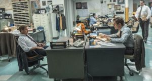 Fair cops: Woody Harrelson and Matthew McConaughey in 'True Detective'