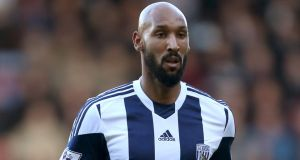 West Brom striker Nicolas Anelka has been suspended for five games and fined £80,000 (€97,500) following an investigation into his 'quenelle' gesture, the Football Association has announced. Photograph: Stephen Pond/PA Wire