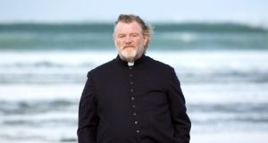 Brendan Gleeson Brendan Gleeson as a priest coping with a death sentence in 'Calvary'.