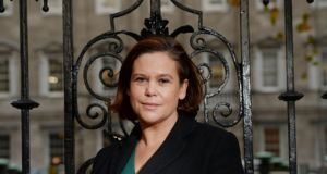 Sinn Féin's Mary Lou McDonald said Angela Kerins was paid more than the US president  or the Taoiseach. The Rehab chief replied that she was a private citizen working for a private not-for-profit organisation. She said she was not paid by the taxpayer. Photograph: Alan Betson