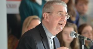 "Archbishop of Dublin Diarmuid Martin said some of the church's teachings are perceived to ""disconnected from real life experience of families – and not by just younger people."" Photograph: Alan Betson"