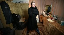 Force Majeure: Eddie Izzard. Photograph: Michael Nagle/The New York Times