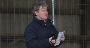 Trainer Philip Fenton at Clonmel Racecourse. Photograph: Niall Carson/PA Wire