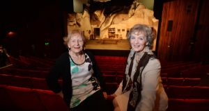 Alive with Sive: Nora Relihan and Margaret Ward, from Listowel, Co Kerry, who were in the first production of the play in 1959. Photograph: Alan Betson