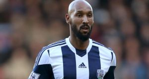 "Nicolas Anelka has also been suspended by his club West Brom after the Football Association found him guilty of an ""aggravated breach"" of anti-discrimination rules. Photograph: PA"