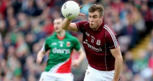In-form Paul Conroy will start at full forward for Galway against Laois. Photo:  James Crombie/Inpho  In-form Paul Conroy will start at full forward for Galway against Laois. Photo: James Crombie/Inpho