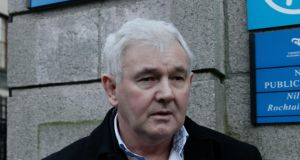 John Gilligan pictured  leaving the Four Courts last December after a High Court action.  Photograph: Collins Courts