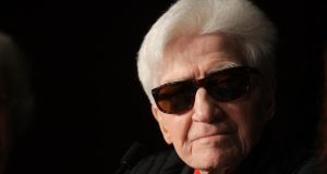 Film  director Alain Resnais: his distinctive cinematic work  made him a major influence on the French New Wave. He has died at the age of 91. Photograph: Joel Ryan/AP