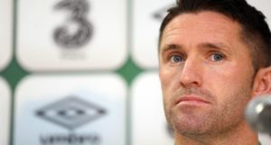 Robbie Keane's departure to America a couple of years ago  raised questions about his continued involvement with the national team. Photograph: Donall Farmer/Inpho