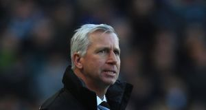 Newcastle manager Alan Pardew: has already been fined €120,000 by his club and issued with a formal warning. Photograph: Matthew Lewis/Getty Images